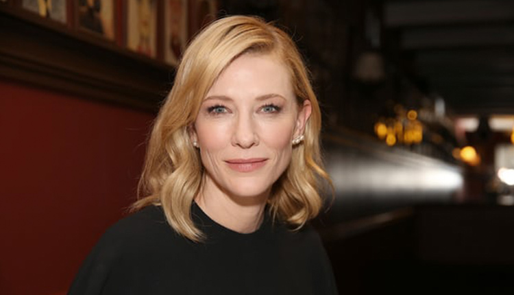 Cate Blanchett engages in environmentalism