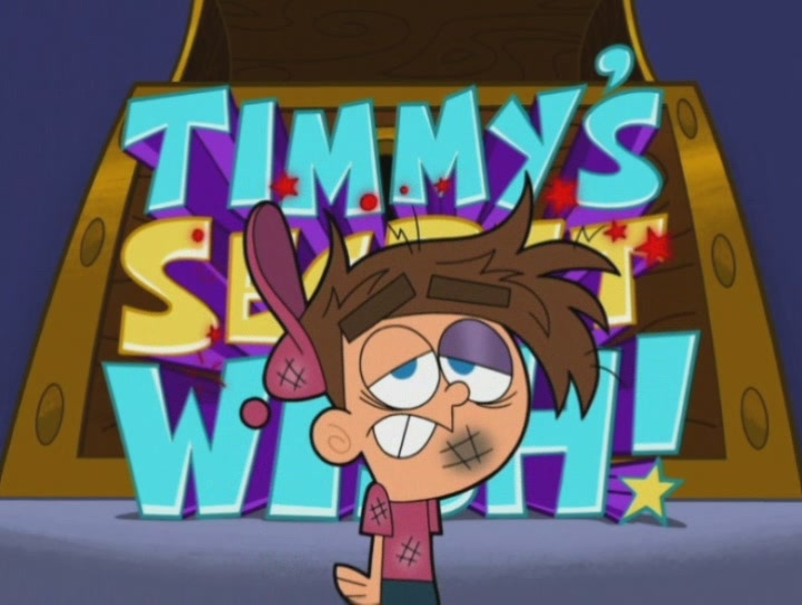 Timmy in Fairly Odd Parents is being Abused