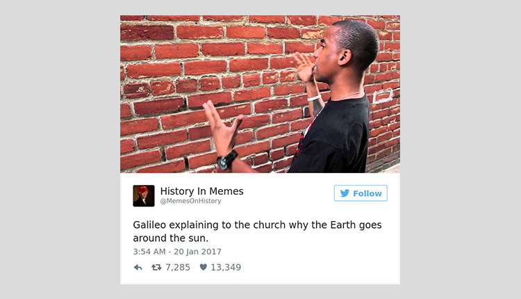 Galileo's troubles in his career