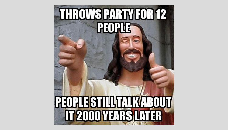 Jesus was cool before it was even cool to be cool