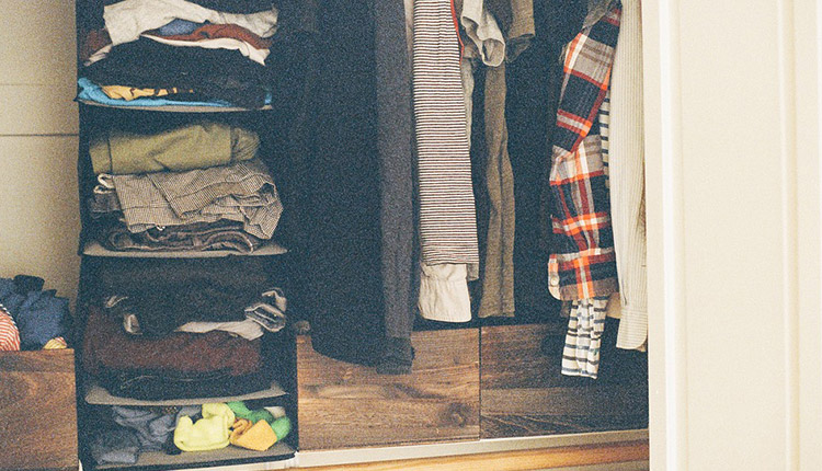 Search your wardrobe thoroughly