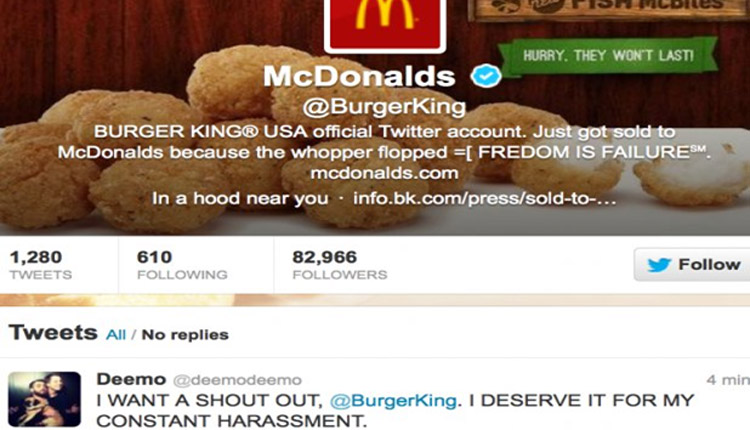 Burger King collaborates with McDonalds