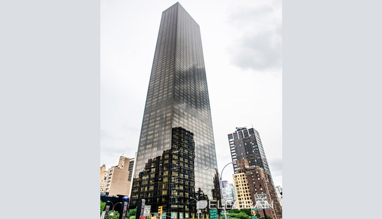 There exists a Trump World Tower