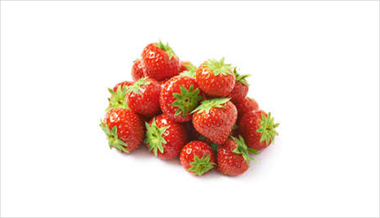 Try out strawberries for teeth whitening