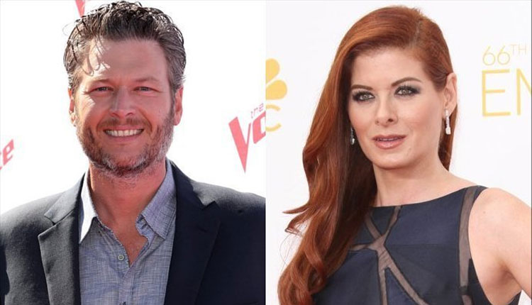 Blake Shelton & Debra Messing