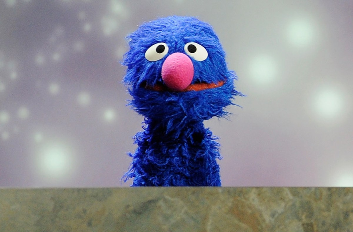 sesame street character grover accused of uttering the f word in