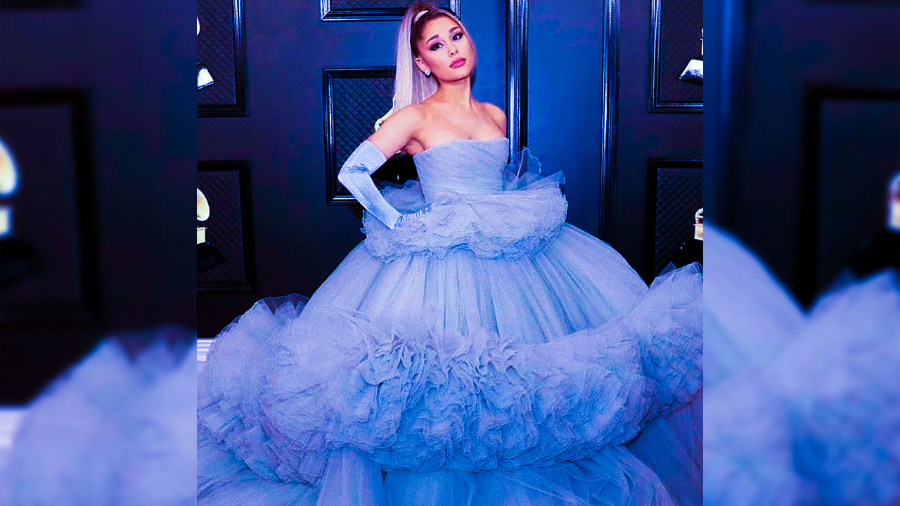 here s how you can diy ariana grande s grammys dress dankanator diy ariana grande s grammys dress