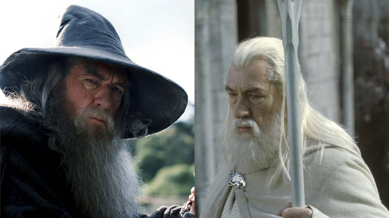 How Gandalf The Grey & White Are Different From Each Other - Dankanator