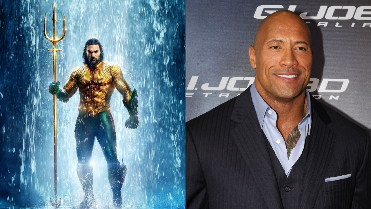 Jason Momoa reacts to Dwayne Johnson daughter fangirling on Aquaman