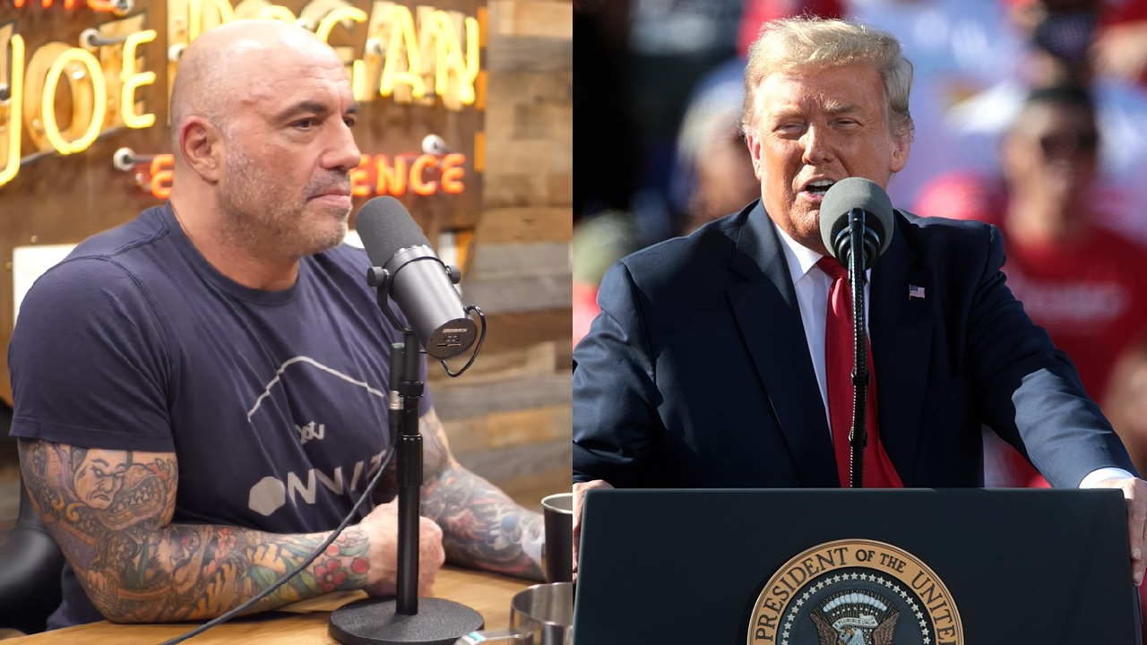 Joe Rogan explains why he turned down interviewing Donald Trump for his podcast, twice