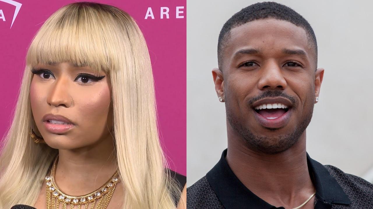 Nicki Minaj wants Michael B Jordan to change his rum's name