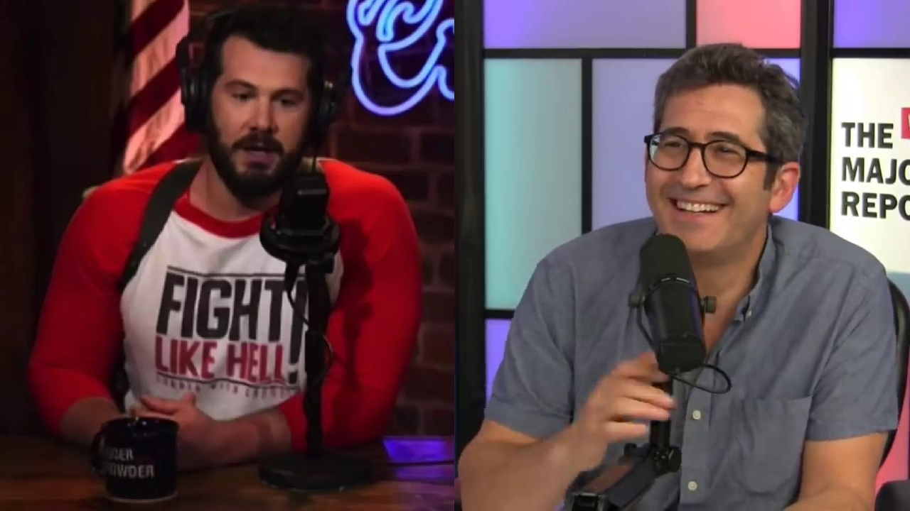 Steven Crowder humiliated at surprise debate with Sam Seder set up by Ethan Klein