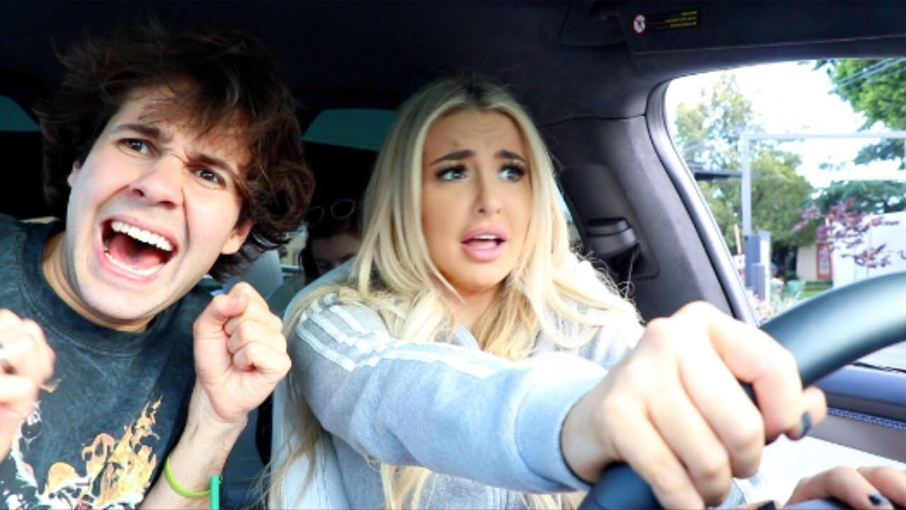 Tana Mongeau defends hanging out with David Dobrik