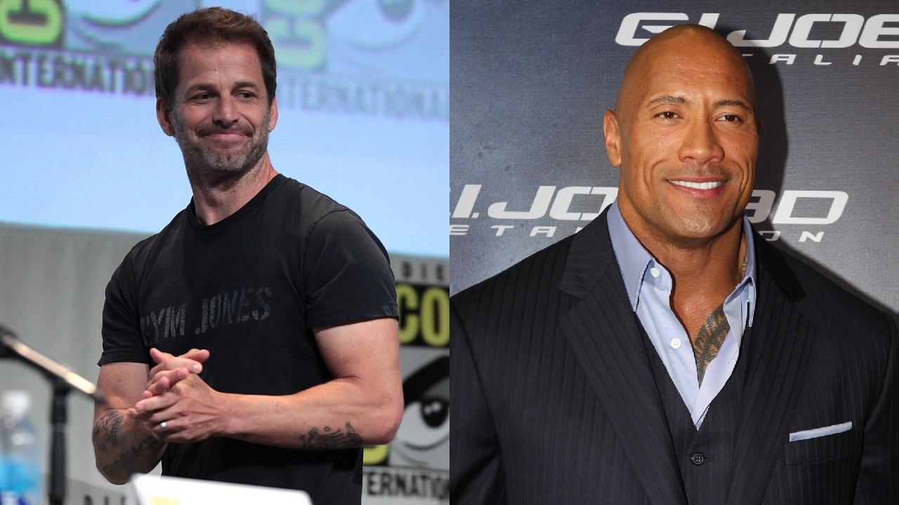 Zack Snyder talks about Dwayne Johnson Black Adam role in the DC universe
