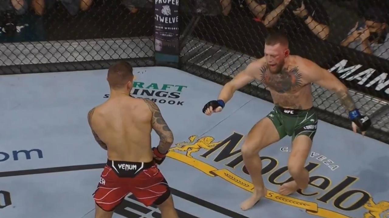 Conor McGregor suffers horrific leg-break!