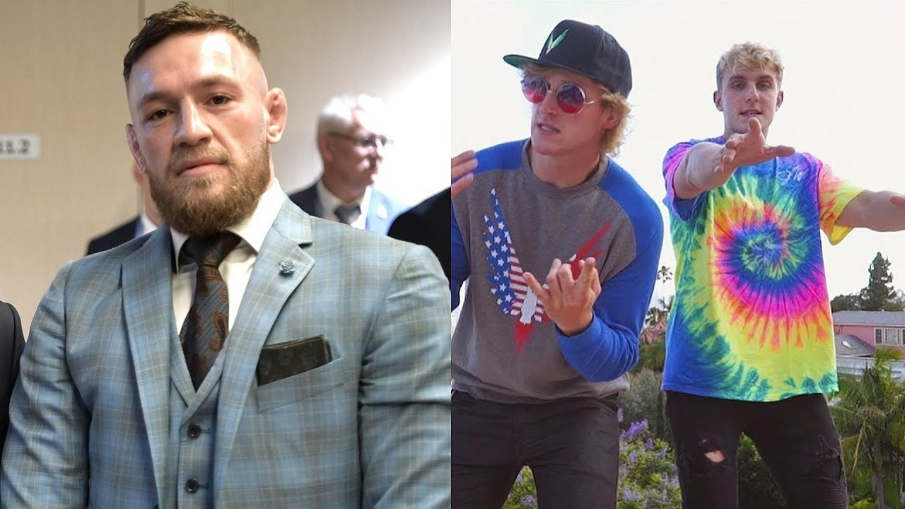 """Conor McGregor willing to fight Jake and Logan Paul, calling them """"dingbats"""""""