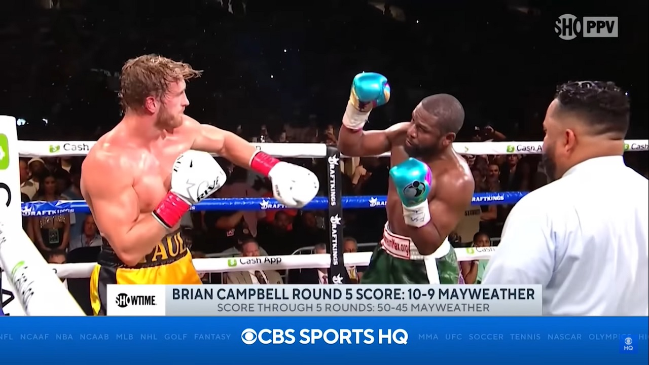Floyd Mayweather got an insane payout after boxing Logan Paul