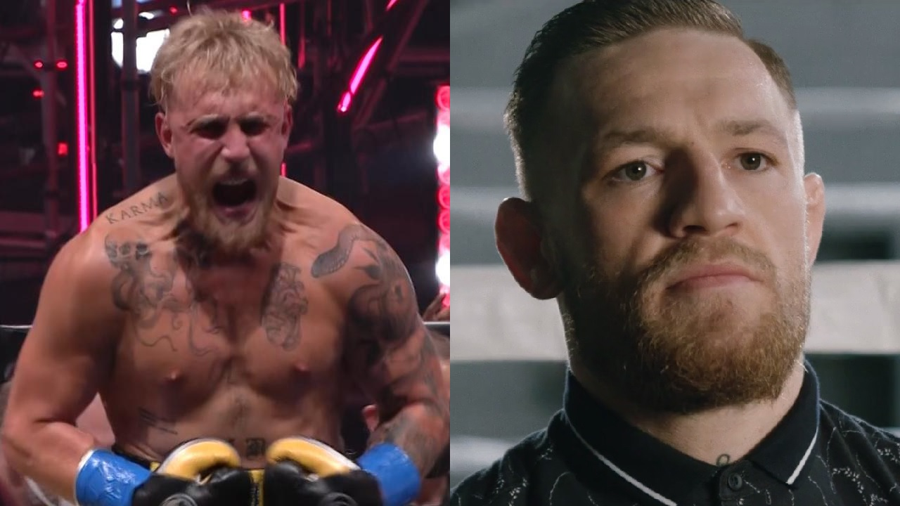 """Jake Paul says Conor McGregor is """"losing it"""" after giving a nod to fight challenge"""