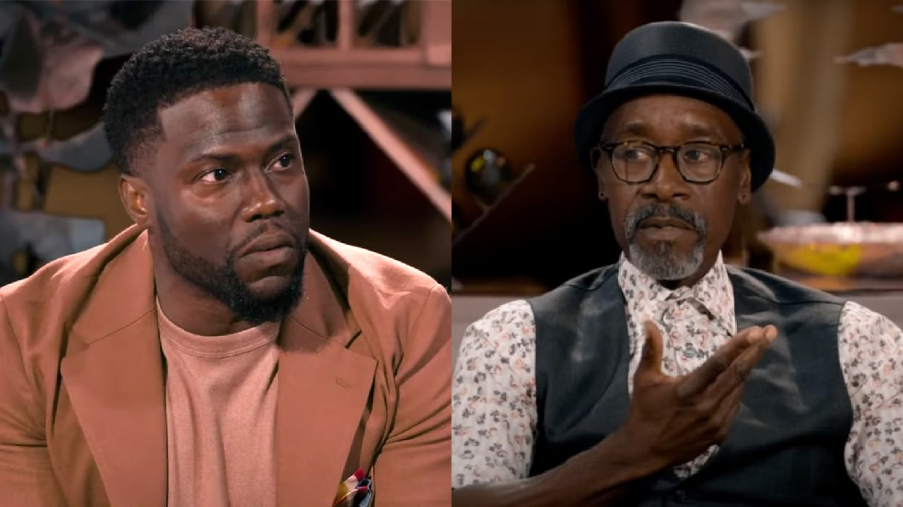 The Awkward Moment Between Kevin Hart & Don Cheadle Over His Age, Explained