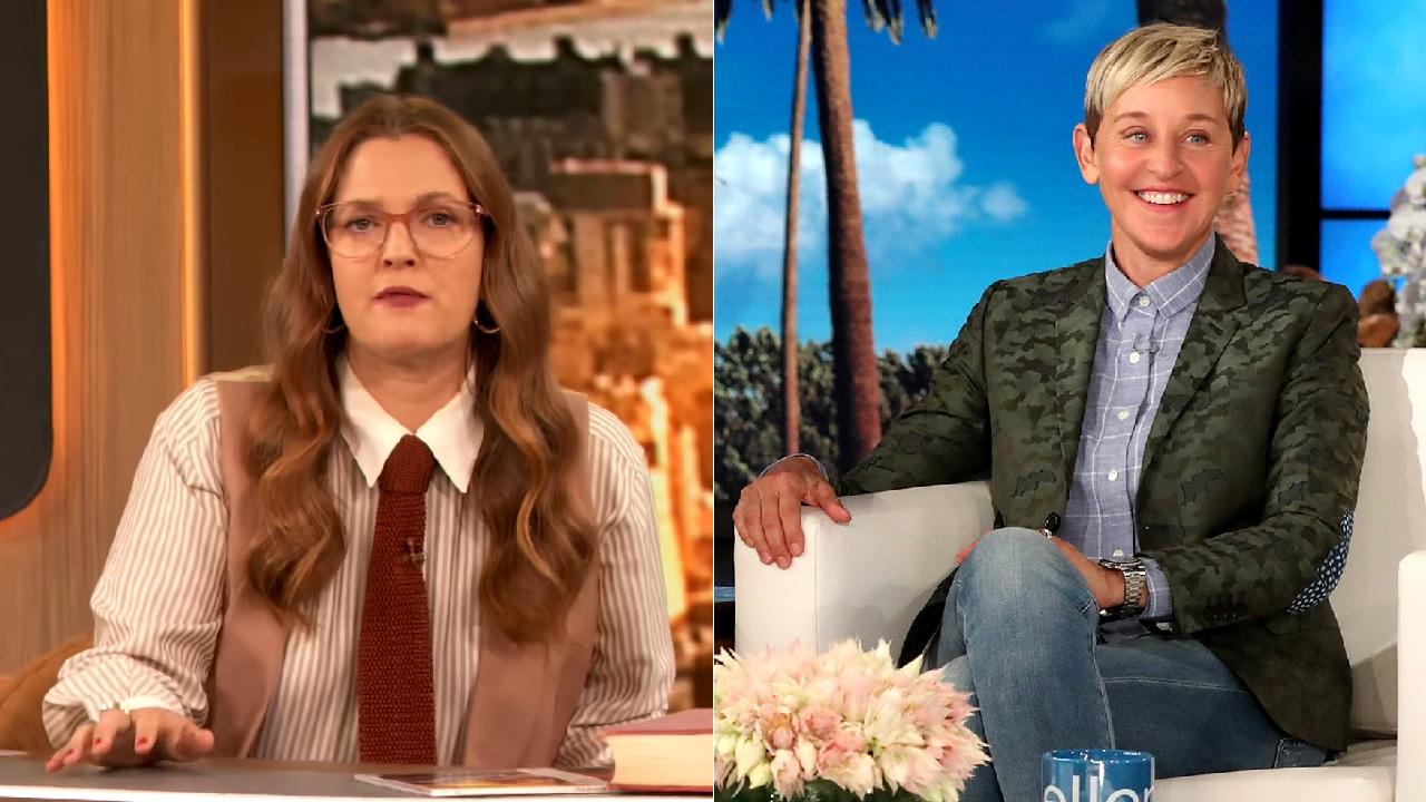 Drew Barrymore Shades Ellen DeGeneres In Her Own Talk Show